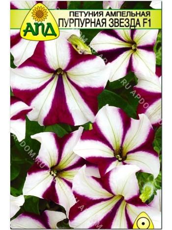 Петуния ампельная Пурпурная Звезда F1 (Petunia x hybrida)